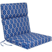 Outdoor Oasis™ Ogee Chain-Link Outdoor Chair Cushion