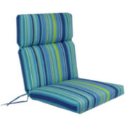 Outdoor Oasis™ Bossa Stripe Outdoor Chair Cushion