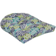 Outdoor Oasis™ Fish Frenzy 2- Pack Wicker Outdoor Seat Cushion
