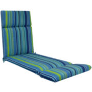 Outdoor Oasis™ Bossa Stripe Chaise Lounge Outdoor Cushion
