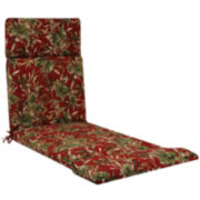 Outdoor Oasis™ Tropical Floral Chaise Lounge Outdoor Cushion