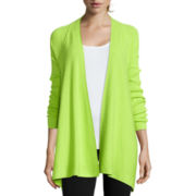 Worthington® Long-Sleeve Flyaway Cardigan - Tall