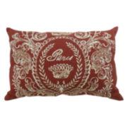 "Park B. Smith® Paris Postage Tapestry 12x18"" Decorative Pillow"