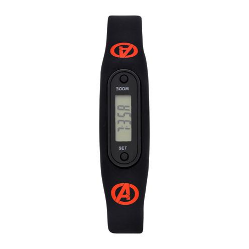 Avengers Boys Pedometer Tracker Strap Watch-Avg4513jc