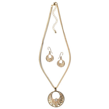 jcpenney.com | Mixit Gold Filgre Jewelry Set