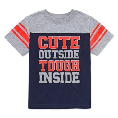 jcpenney.com | Okie Dokie Short-Sleeve Football T-Shirt - Toddler 2T-5T