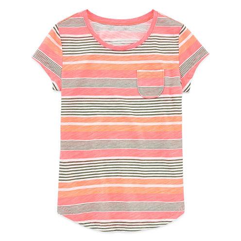 Arizona Girls Short Sleeve Favorite Tee - Girls' 7-16 and Plus