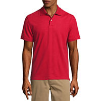 3 St. Johns Bay Short Sleeve Solid Performance Pique Polo Shirt