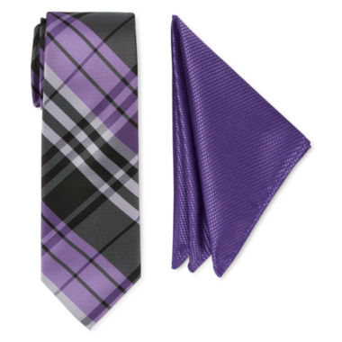 jcpenney.com | U.S. Polo Assn. Plaid Tie Set