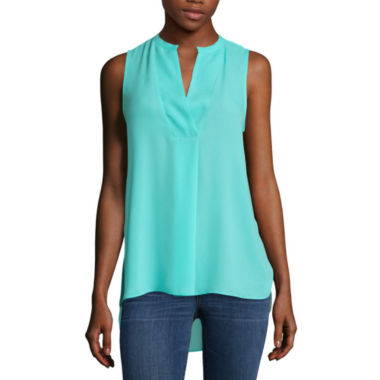 jcpenney.com | a.n.a Sleeveless Popover Tunic