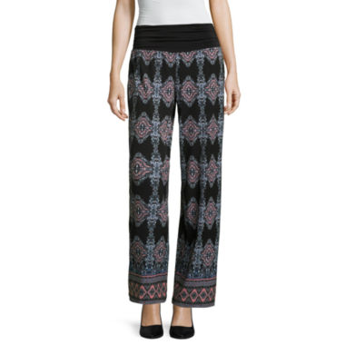 jcpenney.com | Alyx Solid Palazzo Pants