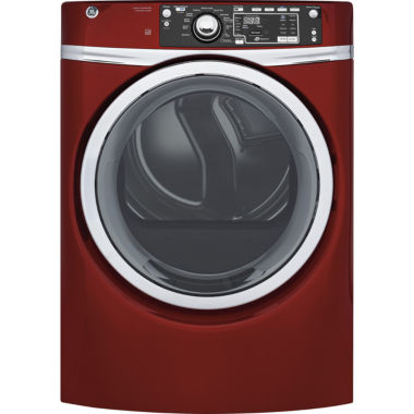 jcpenney.com | GE® 8.3 cu. ft. Capacity Front Load Electric ENERGY STAR® Dryer with Steam