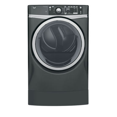 jcpenney.com | GE® 8.3 cu. ft. Capacity RightHeight™ Design Front Load Gas ENERGY STAR® Dryer with Steam