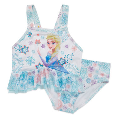 jcpenney.com | Disney Girls Disney Princess Solid Tankini Set - Toddler