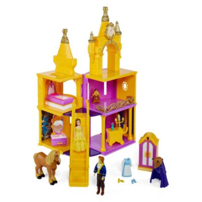 Disney 5 Pc Beauty And The Beast Toy Playset Girls