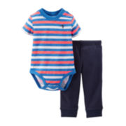 Carter's® 2-pc. Bodysuit and Pants Set - Boys newborn-24m