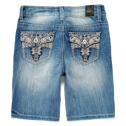 ZCO Embroidered Bermuda Shorts - Girls 7-16