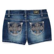 ZCO Embellished Shorts – Girls 7-16