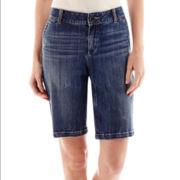 Liz Claiborne® Chino Bermuda Shorts
