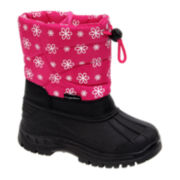 Rugged Bear Girls Cold Weather Boots - Toddler