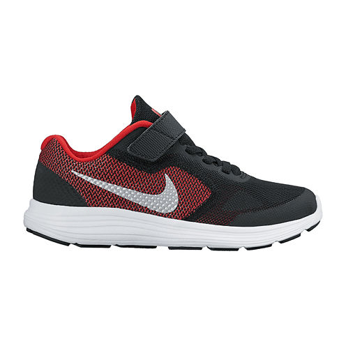 Nike® Revolution 3 Boys Wide Width Running Shoes – Little Kids