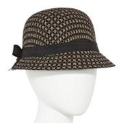 Scala™ Pronto Metallic Cloche Hat