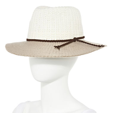 jcpenney.com | Studio 36 Colorblock Panama Hat
