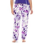 Ambrielle® Knit Sleep Pants - Plus