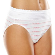 Warner's® No Pinching, No Problems. High-Cut Lace Briefs - RT2091P