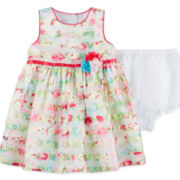 Marmellata Sleeveless Floral-Print Dress - Baby Girls 3m-24m