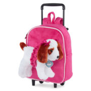 Poochie & Co. King Charles Poochie Trolley Convertible Backpack Suitcase