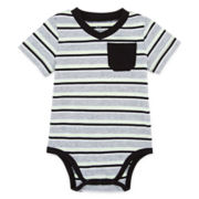 Okie Dokie® Short-Sleeve Bodysuit - Baby Boys newborn-24m