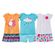 Okie Dokie® Tee, Bermuda Shorts or Skort - Toddler Girls 2t-5t
