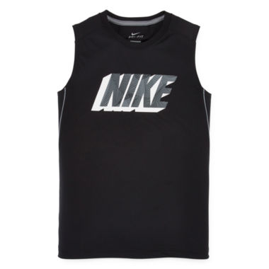 jcpenney.com | Nike® Dri-FIT Muscle Tee - Boys 8-20