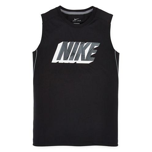 Nike® Dri-FIT Muscle Tee - Boys 8-20