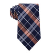 Stafford® Tray Plaid Silk Tie