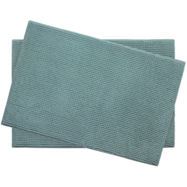 "jcpenney.com | Bounce Comfort Plush Memory Foam Chenille 17x24"" 2-pc. Bath Mat Set"