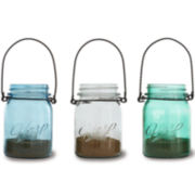 3-pc. Hanging Mason Jars With Tealights