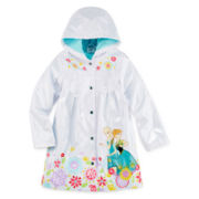 Disney Collection Frozen Rain Coat - Girls