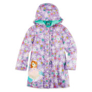 Disney Collection Sofia Rain Coat – Girls