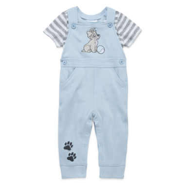 jcpenney.com | Disney Baby Collection Lady and the Tramp 2-pc. Overall Set - Baby Boys newborn-24m