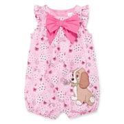 Disney Baby Collection Lady Woven Romper – Baby Girls newborn-24m