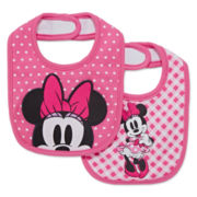 Disney Baby Collection 2-pk. Minnie Bibs