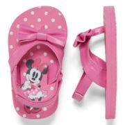 Disney Baby Collection Flip Flops - Baby Girls newborn-24m
