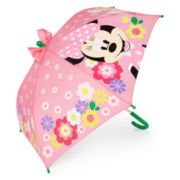 Disney Collection Pink Minnie Mouse Umbrella