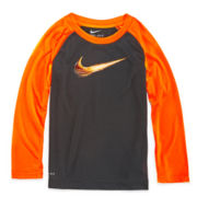 Nike® Dri-FIT Long-Sleeve Top - Preschool Boys 4-7