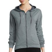 Reebok® Work Out Ready Zip Hooded Jacket