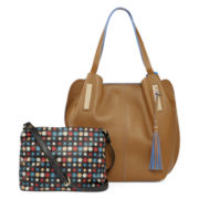 Latique Penelope Tote and Crossbody Bag