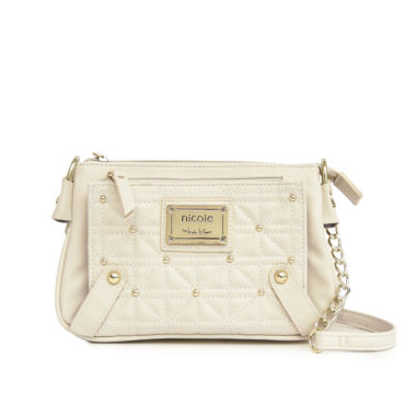 jcpenney.com | Nicole By Nicole Miller Suzie Quilted Mini Crossbody Handbag