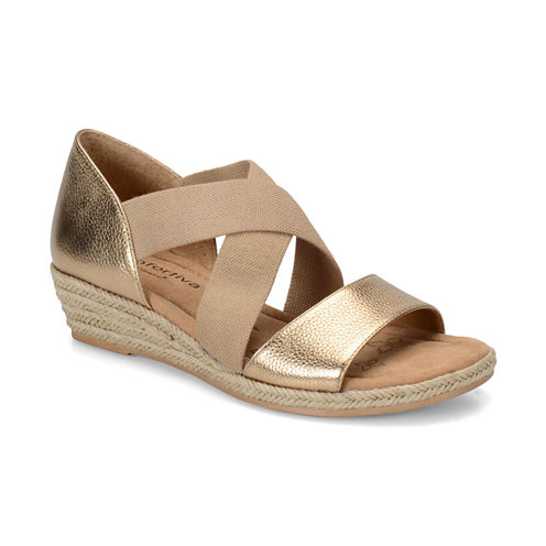 Comfortiva Brye Womens Wedge Sandals